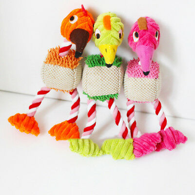 LK_ Dog Cat Toy Play Funny Pet Puppy Chew Squeaker Squeaky Plush Sound Toys Fa