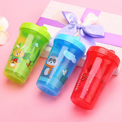 New Fox Bunny Children Baby Infant Leak Proof Cup Training Drinking Cup 300ml