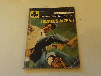 SECRET SERVICE PICTURE LIBRARY,NO 12,1976 ISSUE,GOOD FOR AGE,42 yrs old,V RARE.