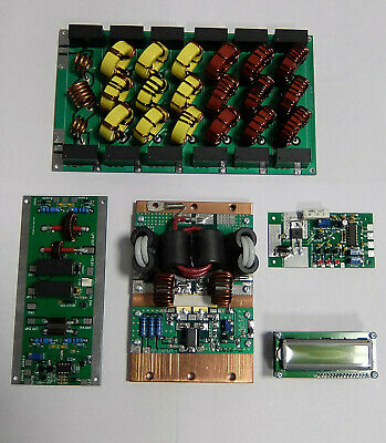 Full Kit Hf Amplifier 1200W 1.8-54Mhz Ldmos Lpf Blf188Xr With Protector
