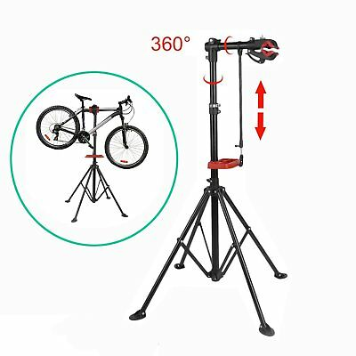 Bike Repair Work Stand New With Bonus Tool Tray For Home Bicycle Mechanic Y BO