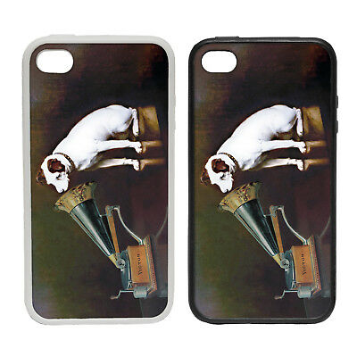 His Masters Voice - Rubber and Plastic Phone Cover Case #2 - Music Retro Vintage