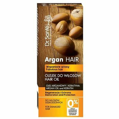 Dr.Sante Natural Oil with Argan and Keratin for Damaged Hair 50ml