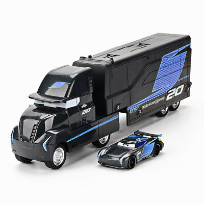 Newest Cars 3 Jackson Storm Hauler Truck +Black Jackson Storm Car Toy Kids Gift