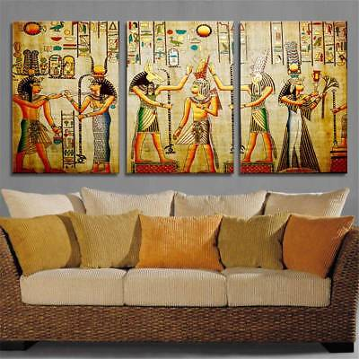 Home Decor Frameless Huge Wall Art On Canvas Oil Painting Cleopatra Z