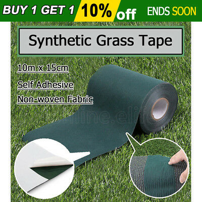 10Mx15CM Self Adhesive Synthetic Turf Artificial Grass Joining Lawn Tape Glue