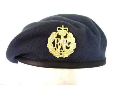 1cd9a83be RAF BERET NEW Silk Lined Small Crown /Hood Beret Royal Air Force Cap ...