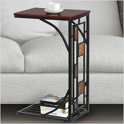 Amazing Under Sofa Table End Side Metal Wood Snack Accent Slide Gmtry Best Dining Table And Chair Ideas Images Gmtryco