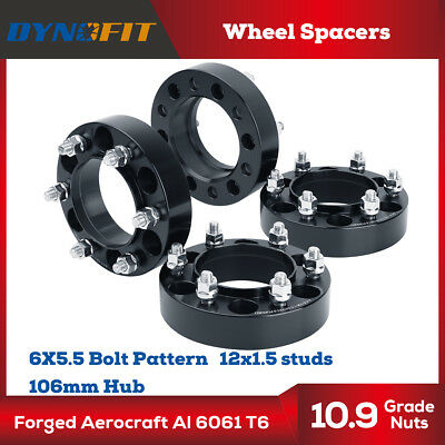 4x 1.5 inch Wheel Spacers Hub Centric 6x5.5 Fits for Tacoma 4 Runner FJ Cruiser