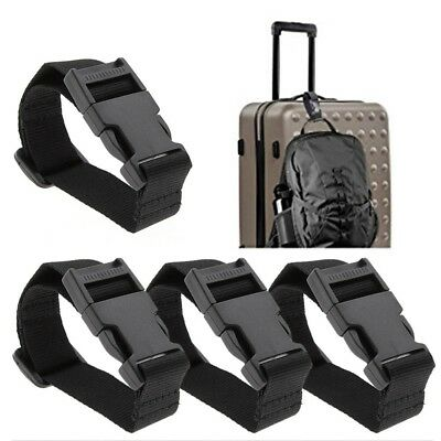 Portable Luggage Strap Suitcase Clip Protect Belt Adjustable Buckle Strap Travel