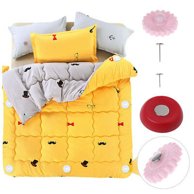 Magnetic Buckle Set Bed Duvet Comforter Quilt Fastener Blanket Fixer Holder Pin