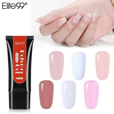 Elite99 Manicure DIY Soak Off 30ML Poly Gel Nail Polish Extension UV Builder Gel