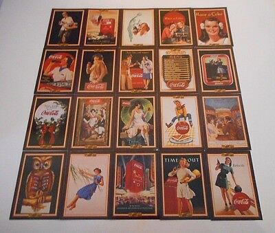 20 x THE COCA COLA COLLECTION SERIES 3 TRADING CARDS 1994 COLLECTACARD-FREE POST
