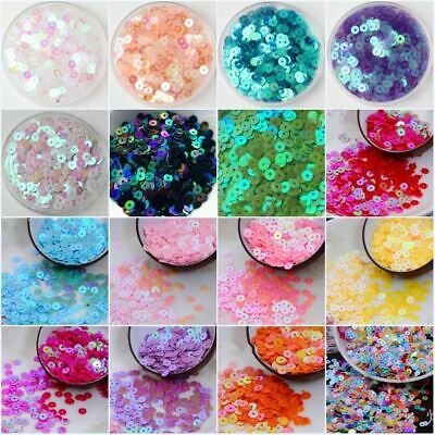 4000pcs(20g) AB Plating Sequin 4mm Flat round loose sequins Paillette sewing Wed