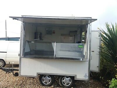 seafood / butchery / catering trailer