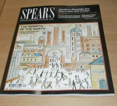 Spear's magazine #62 MAY/JUN 2018 Rebirth of the North, Top 50 Family Lawyers &