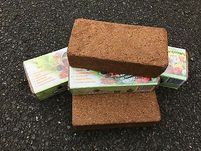15 x 10L Coir Block Coco Coir Peat Pure Coir Blocks Bargain Price Brick Bricks