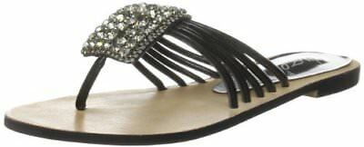 Marrone 37 Unze Evening Slippers Sandali donna Braun L18257W j6g