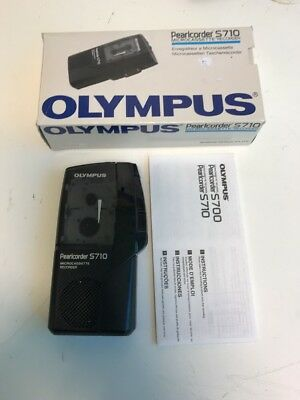 Olympus Pearlcorder S710 Microcassette Recorder (BOXED)