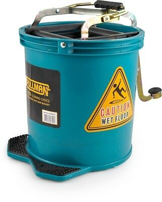 Mop Bucket Wringer Buckets 16 L Heavy Duty Commercial Cleaning Supplies