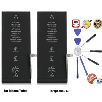 LOT 1~40 Brand NEW OEM Replacement iPhone 7 7 Plus Battery 2900 mAh+FREE KIT MA