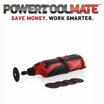 Milwaukee C12RT-0 M12 Compact Rotary tool (Naked - no batteries or charger)