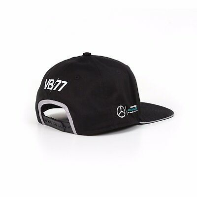OFFICIAL F1 Mercedes AMG Valtteri BOTTAS #77 MENS Flat Brim Peak Cap – NEW