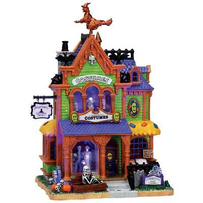 NEW RETIRED Lemax Spooky Town AGATHA'S COSTUME CRYPT #75494