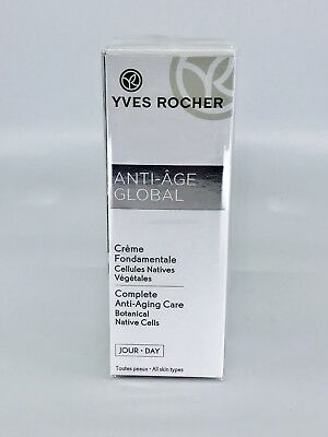 Yves Rocher Anti Age Global Creme Fondamentale Tages Creme 30 Ml