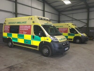 Fully Kitted A&E Ambulance Ex WMAS