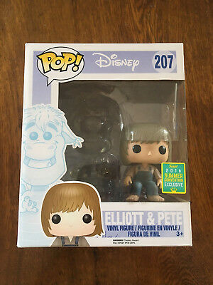 Funko Pop Elliott & Pete (Invisible) 6'' SDCC Exclusive - POP! Sammlung