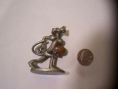 Spoontiques  Pewter Pink Panther Playing Football