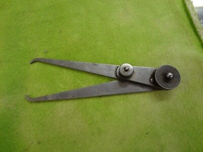 "INSIDE - OUTSIDE PRECISION CALIPER - LS STARRETT CO--6"" Vintage"
