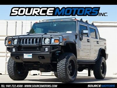 H2 SUT 2005 Hummer H2 SUT Pewter, Lifted, Premium Sound, Leather, Custom Wheels