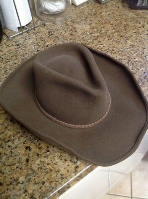 Stetson Felt Cowboy Hat American Buffalo Collection Great Plains Orvis Sz 7  56 2fddf5fb9b8