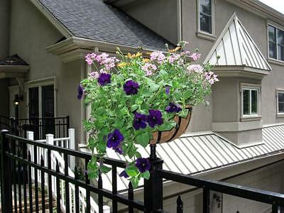 Tru-Post Planter Basket for your Fence Post or Deck Railing