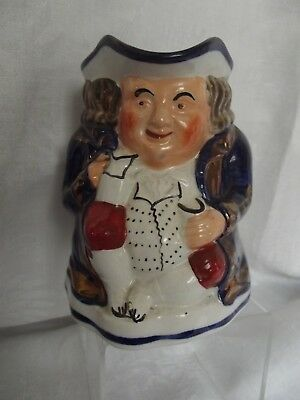 Allerton Pottery Welsh Gaudy Toby Jug