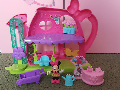 Fisher Price Disney Minnie Mouse Flower Shop watering can