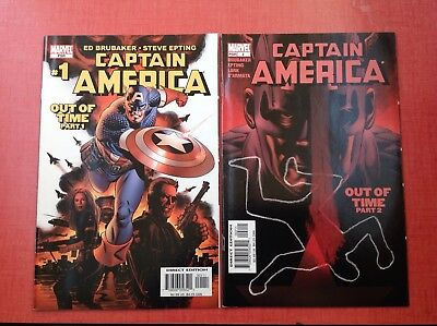 Captain America Out Of Time 1, 2 NM