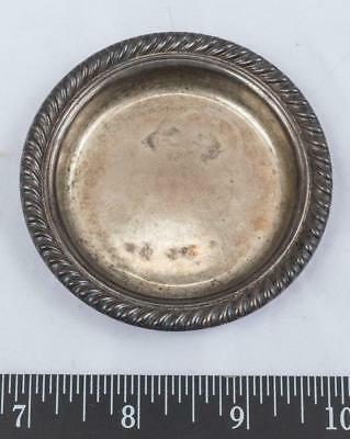 Vintage Silverplate Small Plate Saucer Tray (g25)