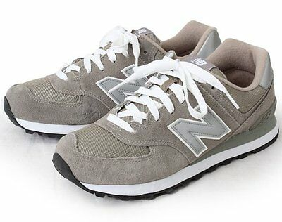 best sneakers e8b24 9c018 WOMENS NEW BALANCE NB 574 GREY CLASSIC CASUAL RUNNING SHOES W574GS SIZE  5.5-6