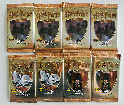 Lotto 8 Bustine Sigillate Cards Harry Potter