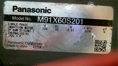 Hoshizaki M91X60S201 Ice Maker Water Pump Motor 60W 120V Panasonic free shipping