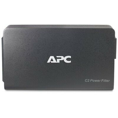 APC(R) C2 2-Outlet C-Type A/V Wall-Mount Power Filter