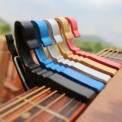 Quick-Change Key Trigger Guitar Electric  Acoustic Clamp Capo Electric Tune