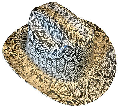 Hard Hat Kimberly Clark Outlaw Tan Snakeskin w/ Free BRB Customs T-Shirt