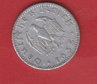 Germany 50 Pennig 1935 A