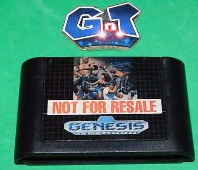 STREET OF RAGE 2 Sega Genesis Cart Only: Cleaned/Tested Cart