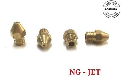 ARCHWAY KEBAB MACHINE JETS for NG (Natural Gas JETS (set of 4)