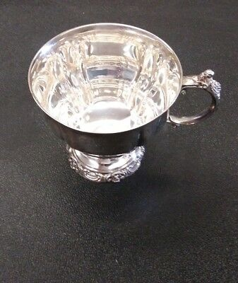 Wallace BAROQUE Pattern Silverplate #252 Punch Cup Replacement for Bowl Set